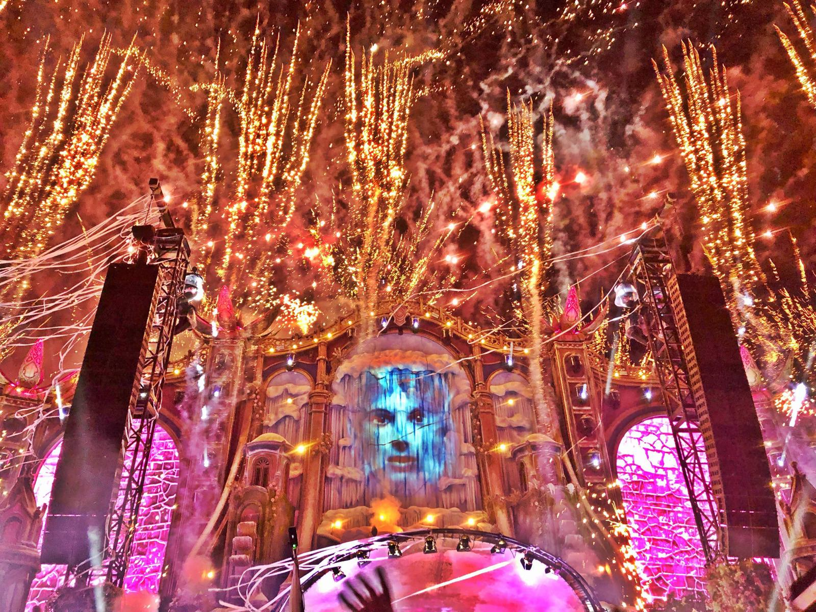 The Mainstage of Tomorrowland Winter