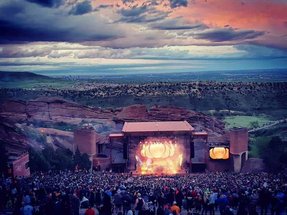 Redrocks Ampitheatre during Global Dub Fest